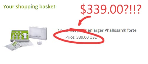 Expensive Price of Extender